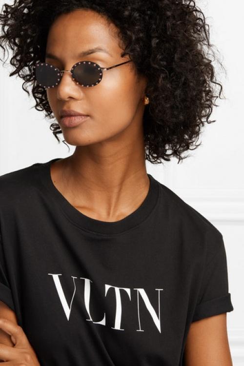 Valentino - Lunettes de soleil ovales