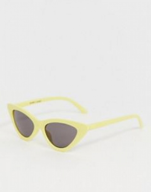 Monki - Lunettes de soleil yeux de chat