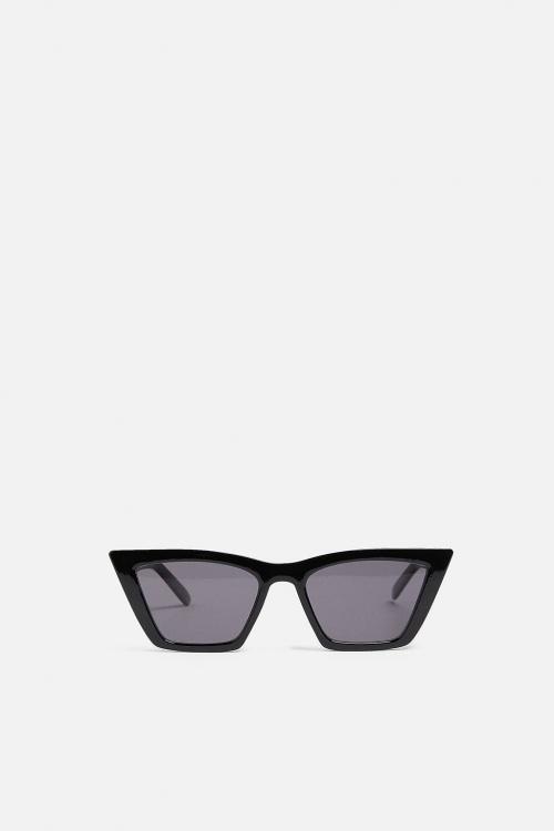 Zara - Lunettes de soleil style oeil de chat carrées