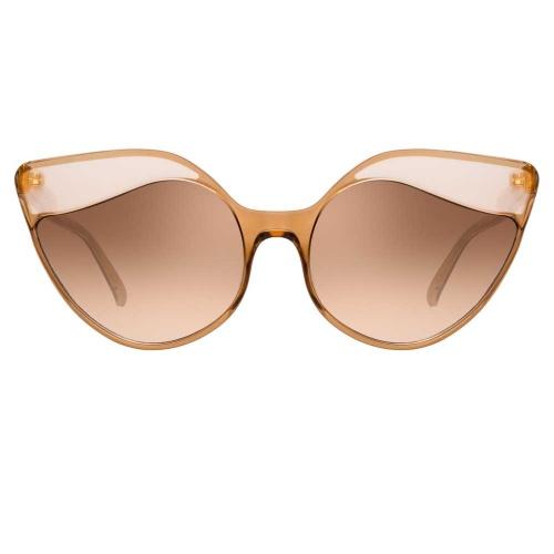 Linda Farrow - Lunettes de soleil yeux de chat