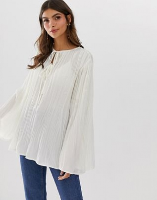 ASOS DESIGN - Blouse fluide
