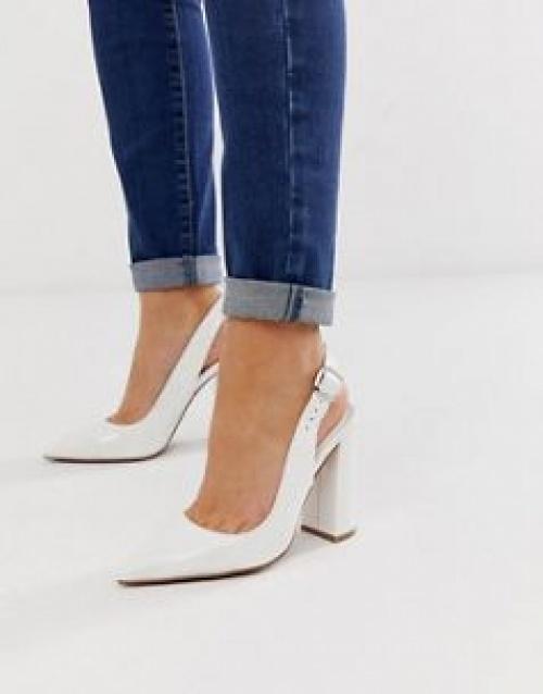 ASOS DESIGN - Penley - Chaussures vernies à talons