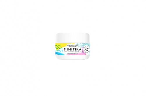 Mimitika - Crème visage SPF50