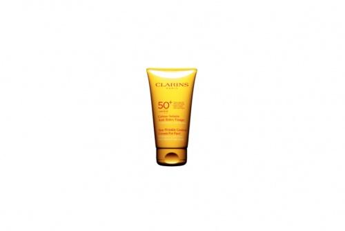 Clarins - Crème Solaire Anti-Rides Visage