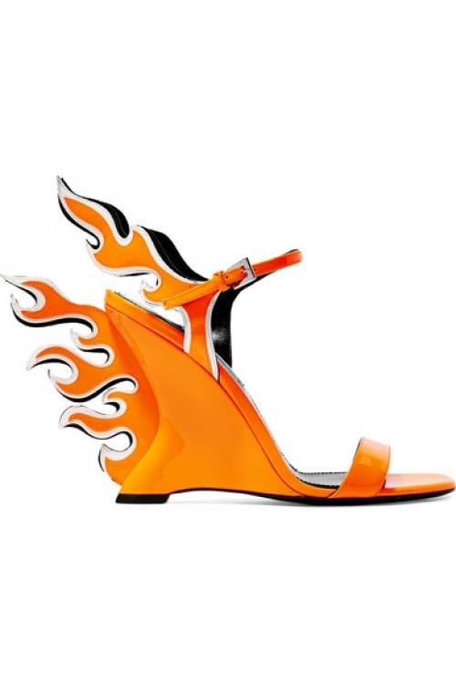 Prada - Sandales compensées
