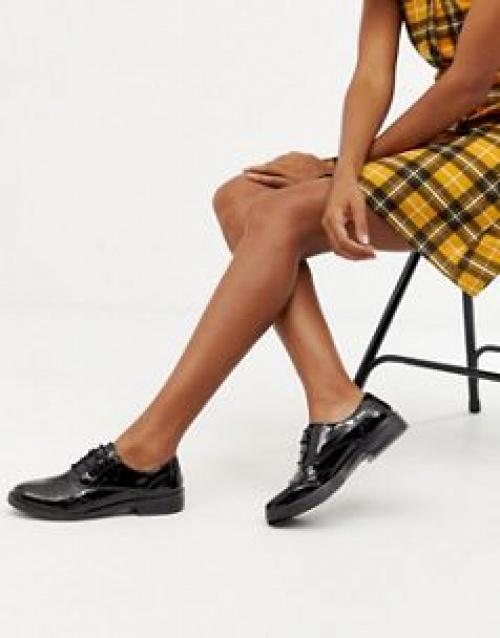 Miss Selfridge - Chaussures richelieu vernies