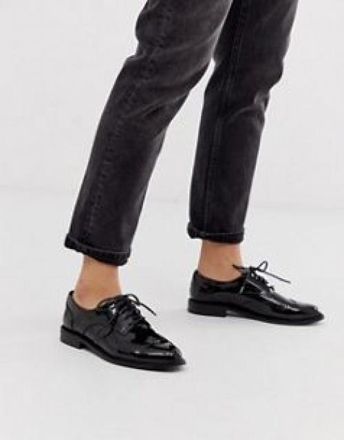 ASOS DESIGN - Chaussures Richelieu plates