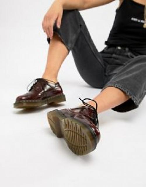 Dr Martens - 3989 - Chaussures richelieu à semelles compensées