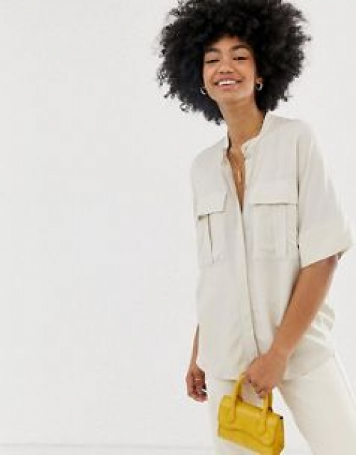 Weekday - Blouse manches courtes oversize