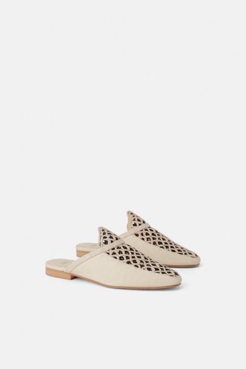 Zara - Chaussures babouches