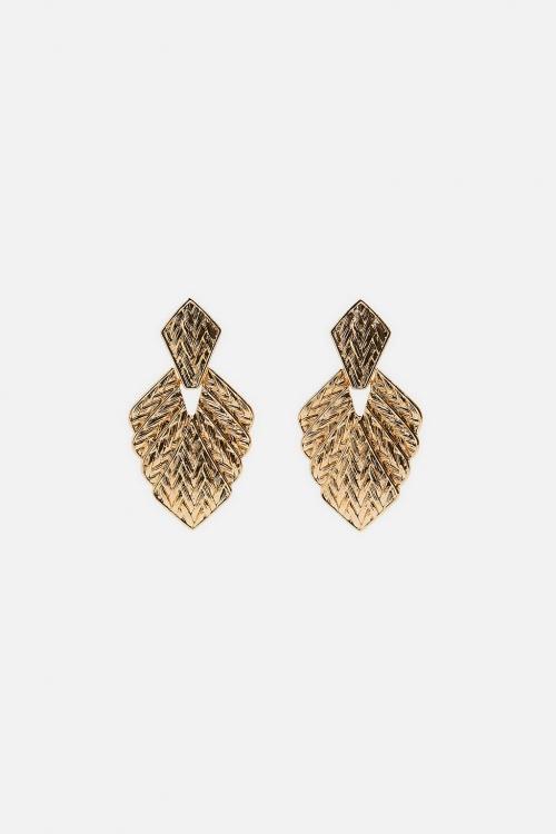 Zara - Boucles d'oreilles texturées