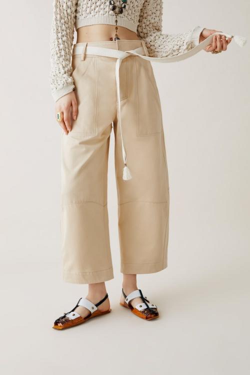 Zara Studio - Pantalon à ceinture