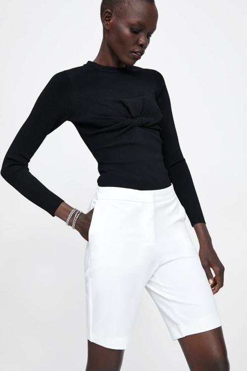 Zara - Bermuda de tailleur