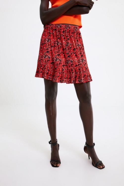 Zara - Mini jupe plissée