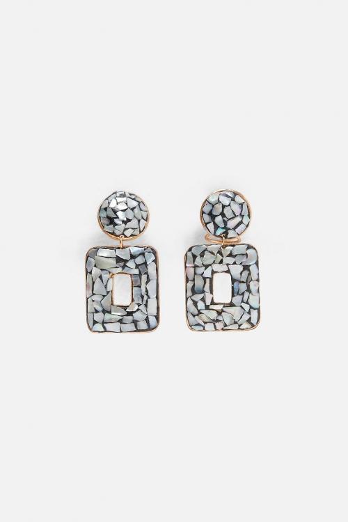 Zara - Boucles d'oreilles géométriques
