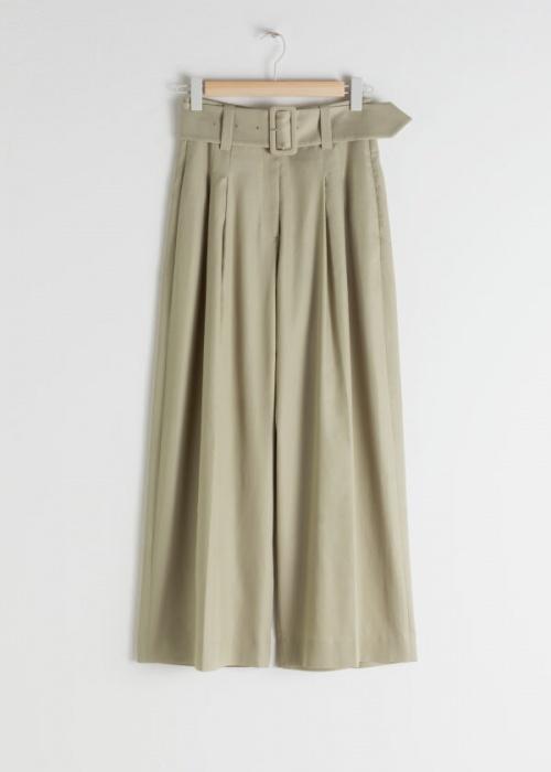 & Other Stories - Pantalon taille haute