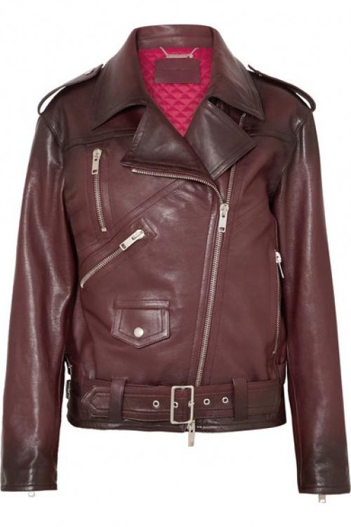 Givenchy - Perfecto oversize en cuir texturé