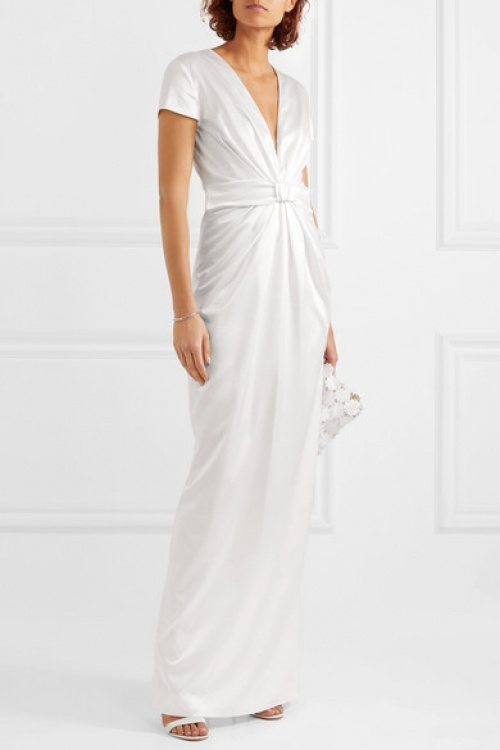 Emilia Wickstead - Robe de mariée en satin de soie