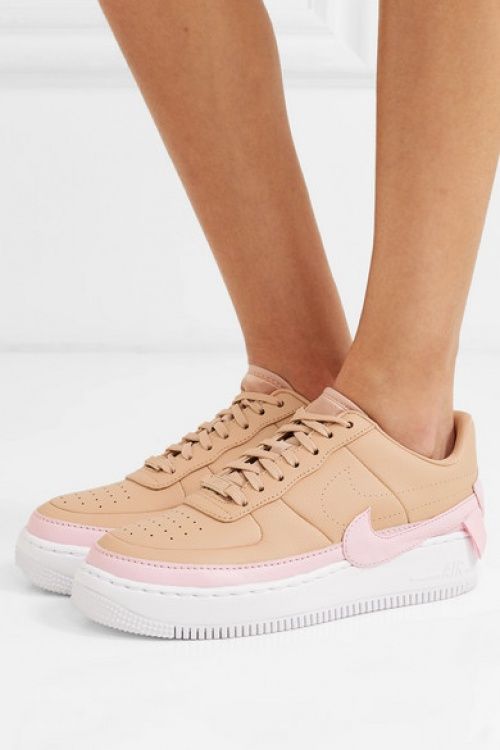 Nike - Baskets en cuir