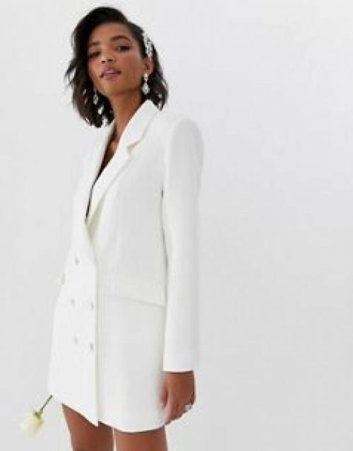ASOS EDITION - Robe de mariage style blazer