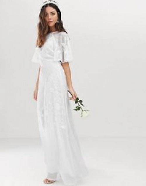 ASOS EDITION - Robe de mariée à broderies