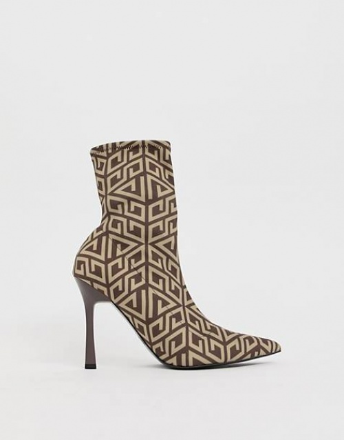 ASOS DESIGN - Bottines à talons