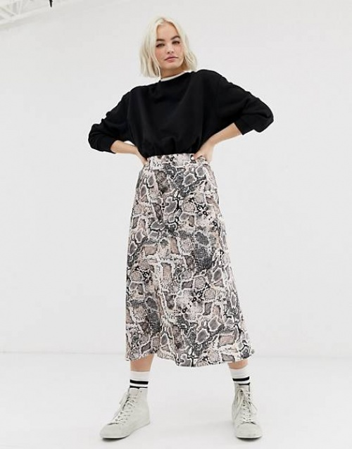 New Look - Jupe mi-longue