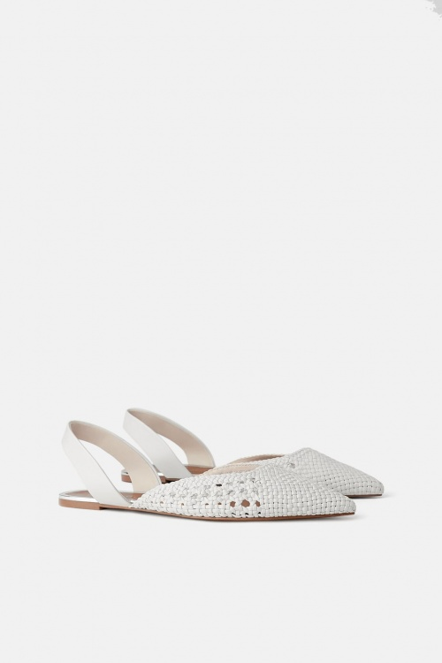 Zara - Chaussures plates ouvertes