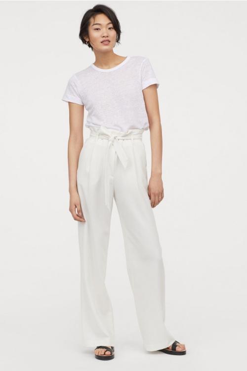 H&M - Pantalon paperbag