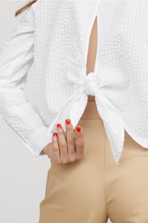 H&M - Blouse ouverte dans le dos