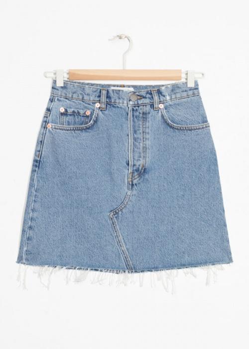 & Other Stories - Mini-jupe en jean