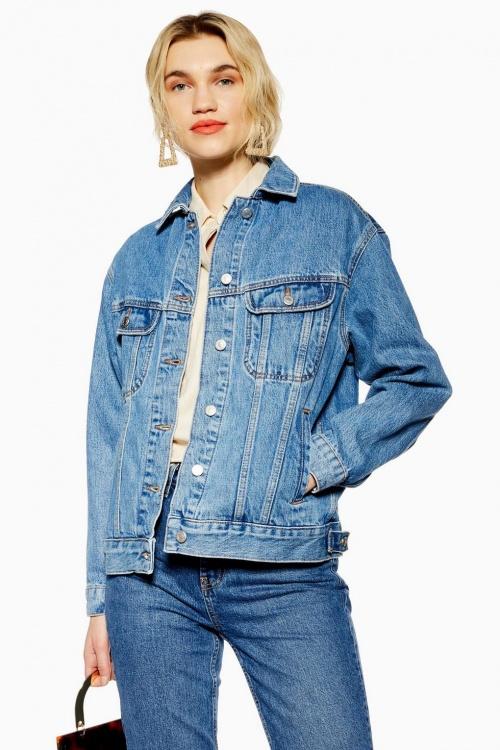 Topshop - Veste en jean ample