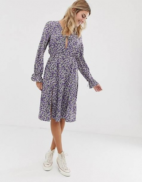 Wednesday's Girl - Robe fleurie