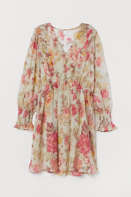 H&M - Robe à fleurs