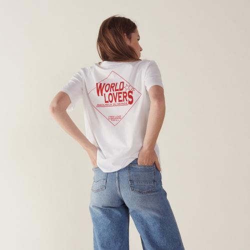 Sandro - T-shirt imprimé