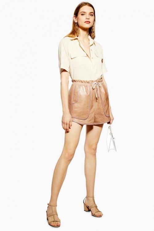 Topshop - Short en cuir