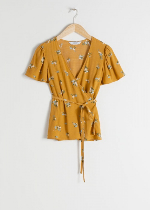 & Other Stories - Blouse wrap