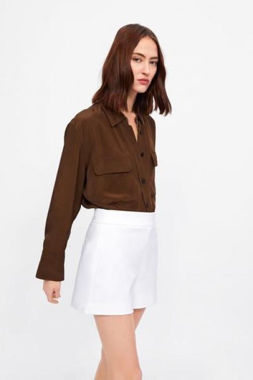 Zara - Short taille haute