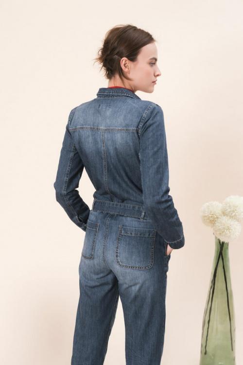 Caroll - Combinaison en jean