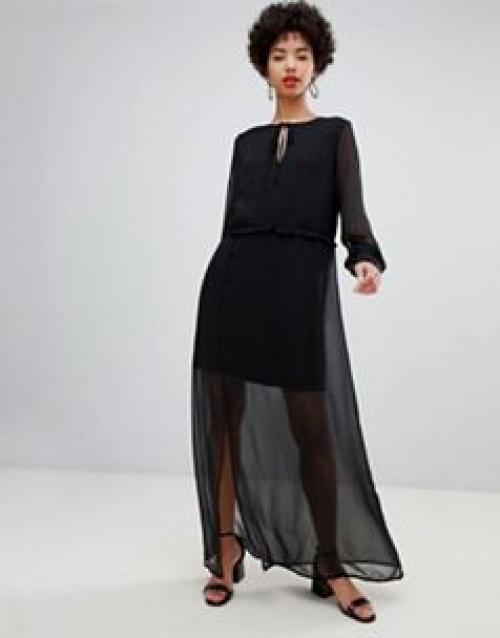 Vero Moda - Robe longue transparente