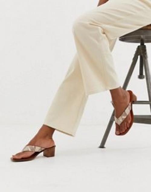 ASOS DESIGN - Timeless - Sandales en cuir