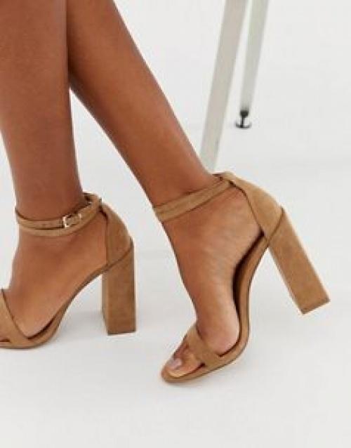 ASOS DESIGN - Highlight - Sandales minimalistes à talons carrés