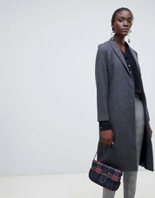 Vero Moda - aware - Manteau long à carreaux