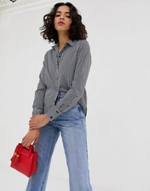 Vero Moda - Chemise à rayures oversize