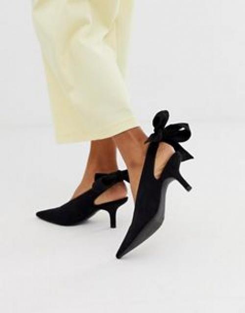 Monki - Chaussures nouées à l'arrière