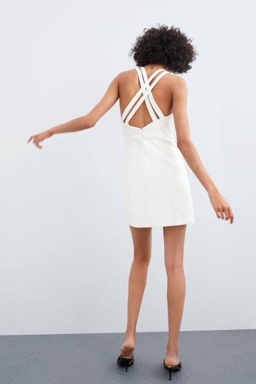 Zara - Robe croisée au dos