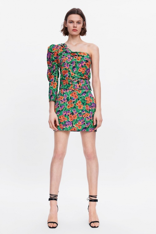 Zara - Jupe à imprimée floral