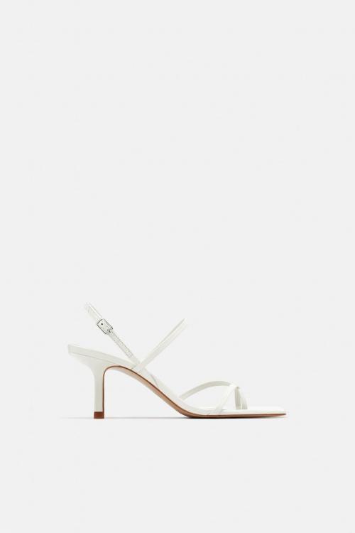 Zara - Sandales à petits talons