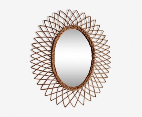 Selency - Miroir ovale