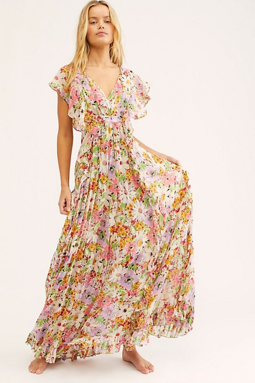 Delicate Semi Ruffle Dress
